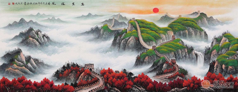 风水画题材寓意解读:山水画中的风水画题材都有哪些讲究?