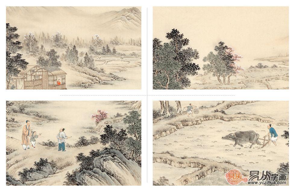 春色满园——画家王宁山水画近作品赏