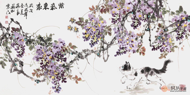 收藏晉葆良花鳥畫