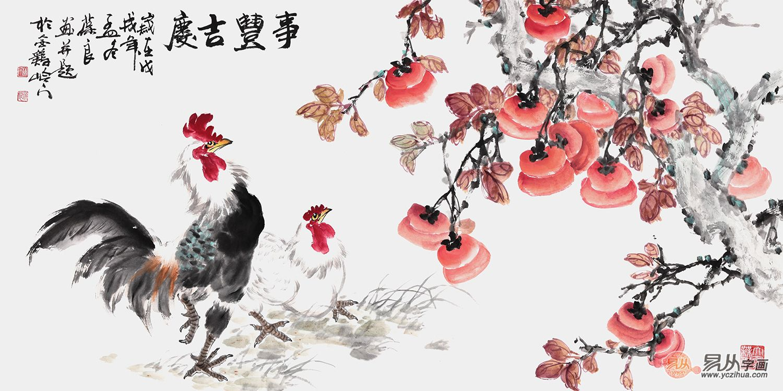 晉葆良花鳥畫欣賞