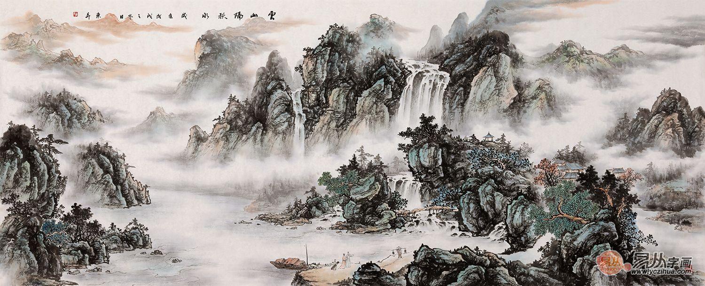 山水画家赵洪霞