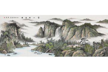 当代画家谁画竹子画的比较好?图片