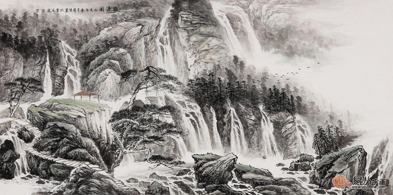 山水画国画